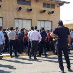 تجمع اعتراضی کارگران نیروگاه دماوند