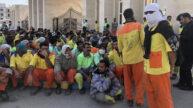 اعتصاب کارگران شهرداری بندرعباس