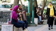 حرکات موزون یک زن دلیل بازداشت گروه موسیقی خیابانی ایلامی