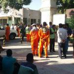 تجمع اعتراضی کارگران شهرداری مهریز