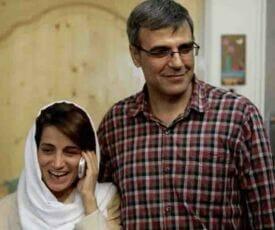 گفتگوی ریسمان همسر نسرین ستوده
