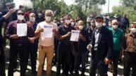 تجمع اعتراضی کارگران پیمانکاری شرکت مینا در پالایشگاه بیدبلند