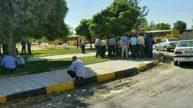 تجمع و اعتصاب رانندگان اتوبوس شهری کرمانشاه