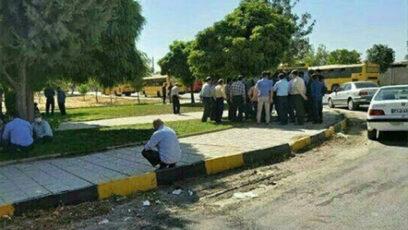 اعتصاب اتوبوس رانی کرمانشاه