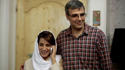 رضا خندان، همسر نسرین ستوده