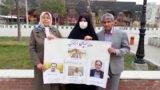 اعتراض برخی خانوادههای زندانیان بیانیه گروه ۱۴ مقابل زندان وکیلآباد