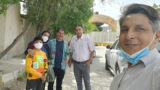 Mohammad Reza Ramezanzadeh releases from Bojnourd prison