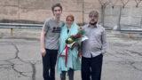 Arash Sadeghi was released after serving his prison sentence