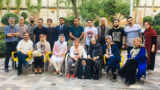 Meeting of some political and civil activists with Nourizad family
