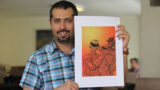 Reporting the accusation of a cartoonist for Qalibaf's complaint