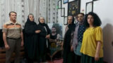 Beating and arresting Narges Mohammadi, Pouran Nazemi and Jafar Azimzadeh following a rally with pleading mothers