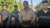 ۵ پناهجوی سیاسی کُرد در اعتراض به سازمان ملل لبهای خود را دوختند