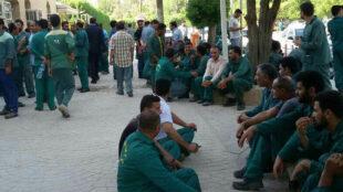 کارگران پیمانکاری شهرداری اهواز