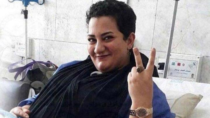 حمایت آتنا دائمی در زندان لاکان رشت از اعتراضات مردم خوزستان