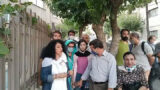 Detained civil activists in Tehran were released hours later